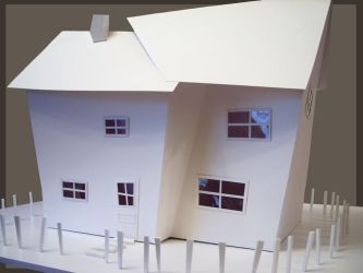 Crooked House model by AshBob87
