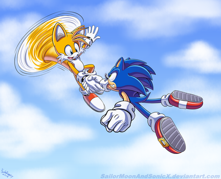 Two Are Better Than One by SailorMoonAndSonicX