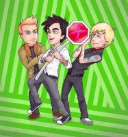 Green Day UNO by kelly42fox