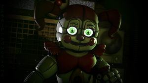 The Little Clown Girl by TF541Productions