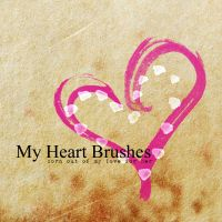 My Heart Brushes by mcbadshoes