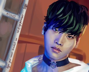 VIXX's N - Hakyeon by type-your-answer