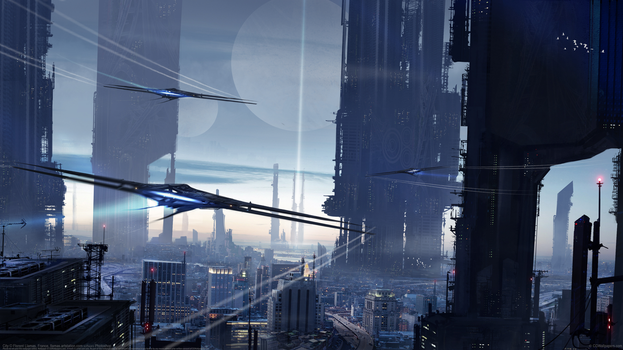 City 4K by CGWallpapers-com