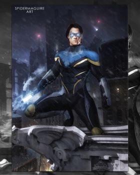 Disco Nightwing  by Spider-maguire