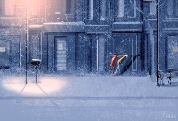 Ha! Winter. by PascalCampion