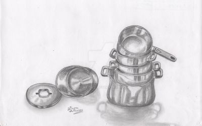 Pots and pans by Diana-bvb