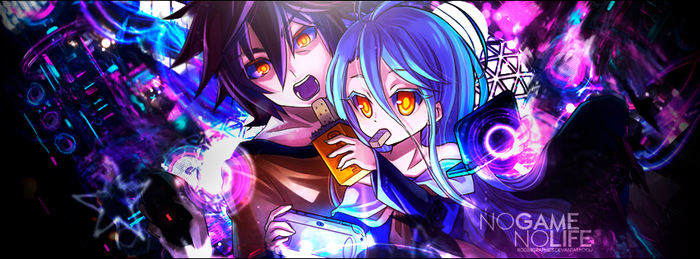 Cover No Game No Life by RogerGraphics