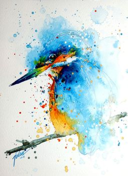 Kingfisher by tilenti