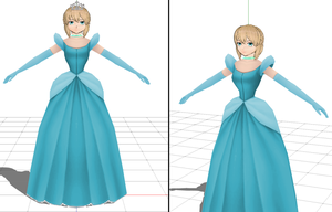 MMD - Alana, the Colossal Giant Princess by GTPS2-GTS