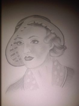 1940s Woman by Josieharding