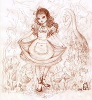 Little Alice by CoolCatFlora