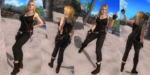 DOA5LR Lara Croft 2013 For Tina jaafar85 Mods by jaafar2009