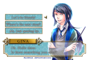 S E L E C T ? [Gina   RP/Relationships Tracker] by PlatinaSi