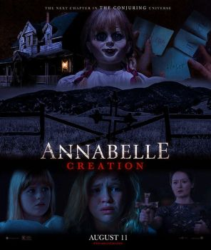 Annabelle Creation: 2 Poster by TheChimeraDoll