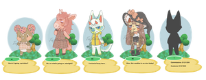 Animal crossing adopts + coms/customs (OPEN) by tapiocAdopts