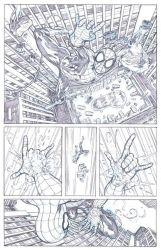Amazing Spider-man 606 Try-out samples p08 by David-Daza
