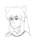 Inuyasha Sketch by CloudDoodle