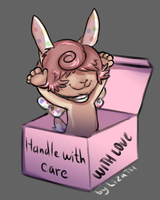 Handle with care by lizathehedgehog