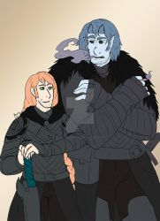 TWC Vote Incentive: Young Archibald and Griswalt by RainyDayMariah