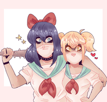 (collab) ah? you are mother fucker????? by imqueerdeer