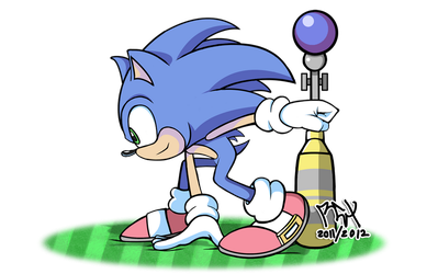 Sonic the Hedgehog 2012 by RGXSuperSonic