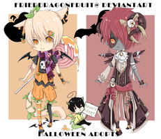 Halloween Special Auction- Chibi Adopts {Closed} by FriedDragonfruit