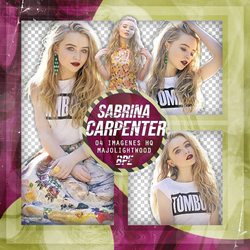 Pack Png 1293 - Sabrina Carpenter by southsidepngs