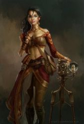 Steampunk Photographer by DireImpulse