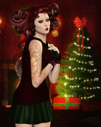 In the Spirit of the Holiday by RavenMoonDesigns