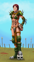 Blood Bowl Dodger by Mandilor