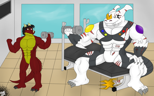 .:Request Number 2:. A Day In The GYM by Neofactory02