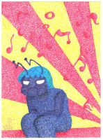ACEO annoying music by Fevley