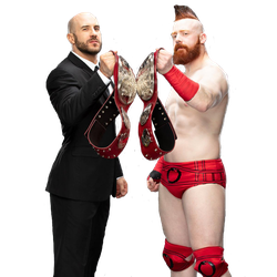 The Bar RAW Tag team Champions |PNG| by TheAngelicDiablo9234