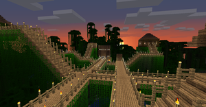 Minecraft - Jungle Town by resir014