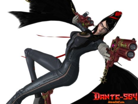 Bayonetta - the sexy Witch by Dante-564
