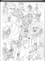 Universal Monsters by Valor1387