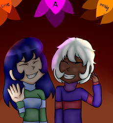 Matching sweaters by A-Little-Melody