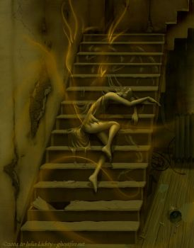 Stair Guardian by ghostfire