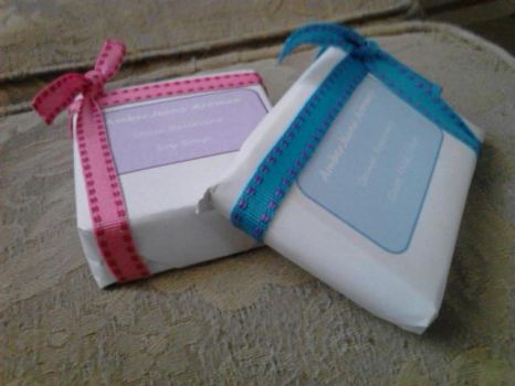 Simple Soap Packaging by AmberJeans-Aromas