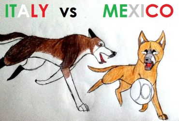 Italy vs Mexico by yugiohfreakXD