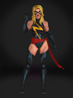 Ms Marvel by Sticklove