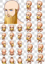Rpg Maker MV Character Generator Parts Beard P09 by cangyu2004
