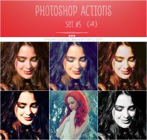 Photoshop Actions 5 + PSD by enhancers