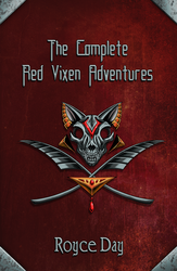 The Complete Red Vixen Adventures - BookCover by Wazaga