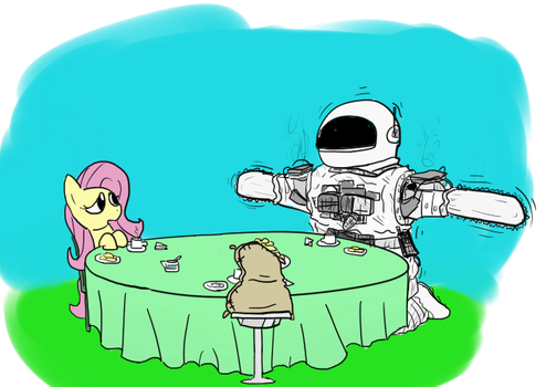 The Tea Party by MatiasAndStuff