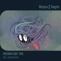 026 POKEMON CARD WEB - Monjara | Tangela