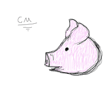 A pig by CheapMedicine