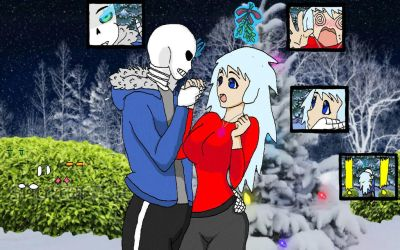 Christmas Surprise (UnderTale: Alive AU) by Bluesky-of-Fire