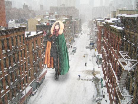 New York snow by Tiny-Little-Lisa