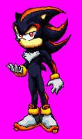 Shadow of Sonic Freedom Fighters by MUGENHunter